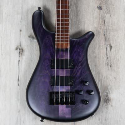 Spector USA Forte 4 Bass, Pau Ferro Fretboard, Aguilar Pickups, Nightshade for sale
