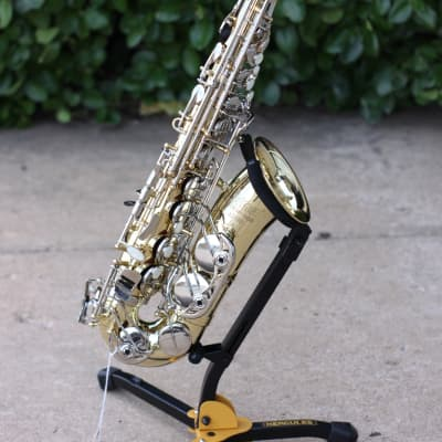 Selmer AS400 Alto Saxophone with Rose Brass Neck - Free Shipping!