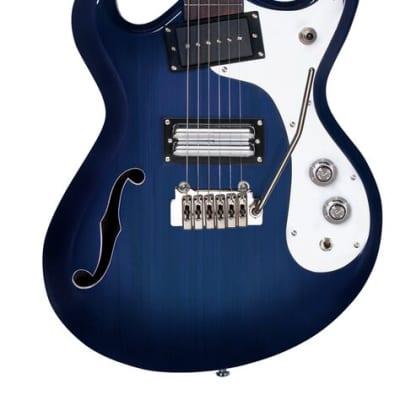 Danelectro'66 w/ Tremolo, Transparent Blue 66T-TRBLUE