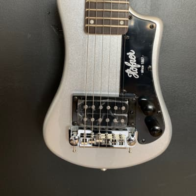 Hofner CT Series Shorty Travel/Mini Electric Guitar 2020 Silver
