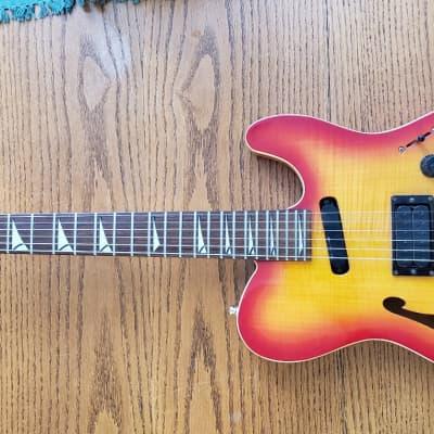 Fender HM Telecaster  1990's  Cherry Sunburst for sale