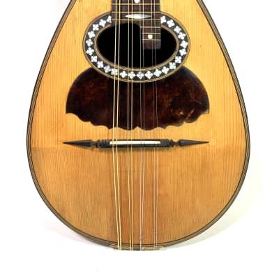 Mandoline Luigi Tamagno de 1907