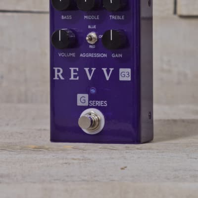REVV G3 Pedal - Preamp, Overdrive, Distortion - In Stock