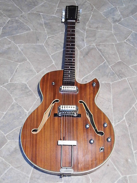 Rare Vintage Astro Thin Archtop Electric Hollowbody