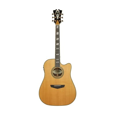 D'Angelico Excel Bowery Dreadnought with Cutaway and Electronics 2019