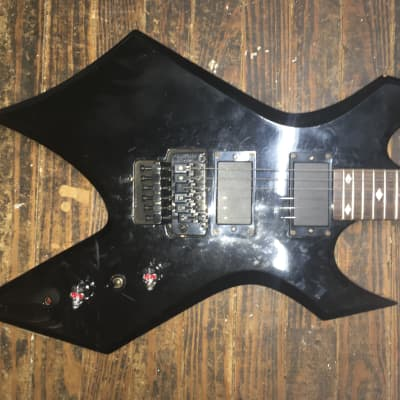 BC Rich  BC Rich B.C. Rich NJ WARLOCK korea floyd rose special active 81/85 pickups  Black for sale