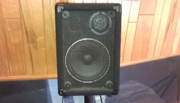 small portable pa speakers 75 each as a pair price is for reverb. Black Bedroom Furniture Sets. Home Design Ideas