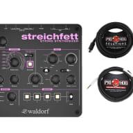 Waldorf Streichfett + Instrument Cable + MIDI Cable