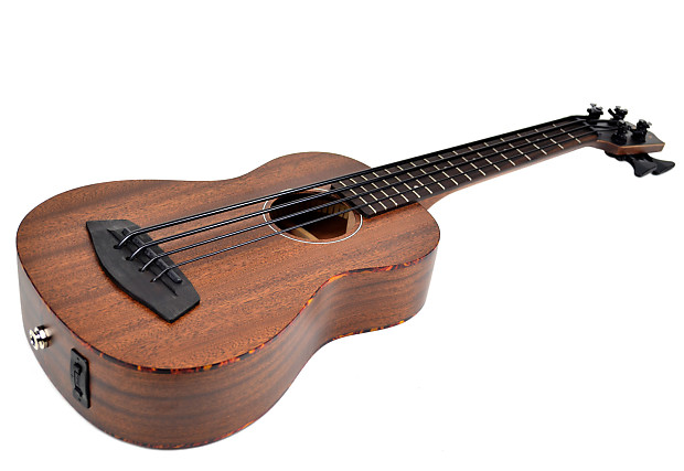 kala u bass all solid mahogany fretted with case reverb. Black Bedroom Furniture Sets. Home Design Ideas