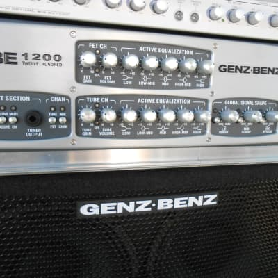 Genz Benz GBE 1200 /XB2 610  Bass Rig for sale