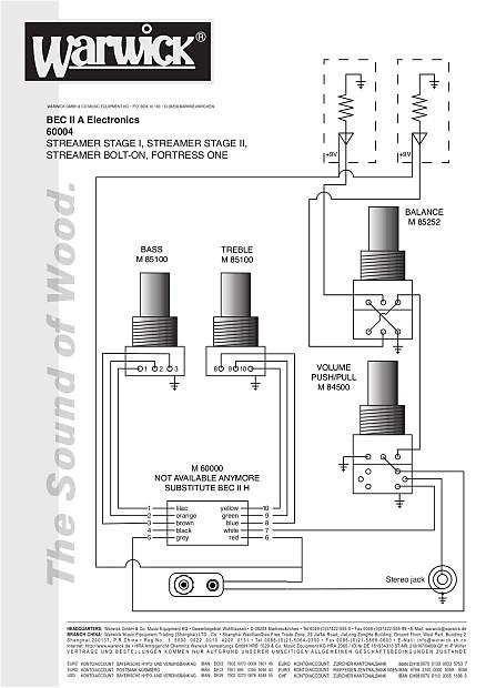 Warwick / MEC 2-band preamp (BEC-II) | Reverb