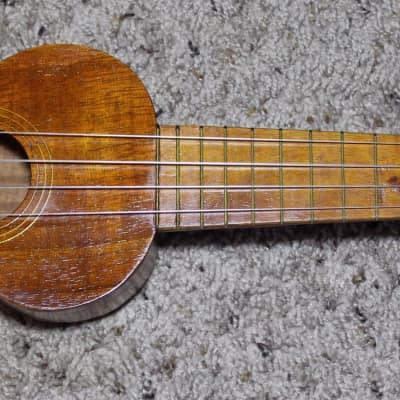 Kumalae Style 1 Gold Award Ukulele  1930's Koa for sale
