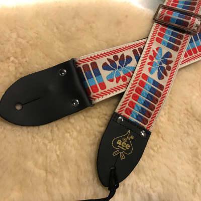 D'andrea Ace Vintage Reissue Guitar Strap DN-ACE-08 for sale