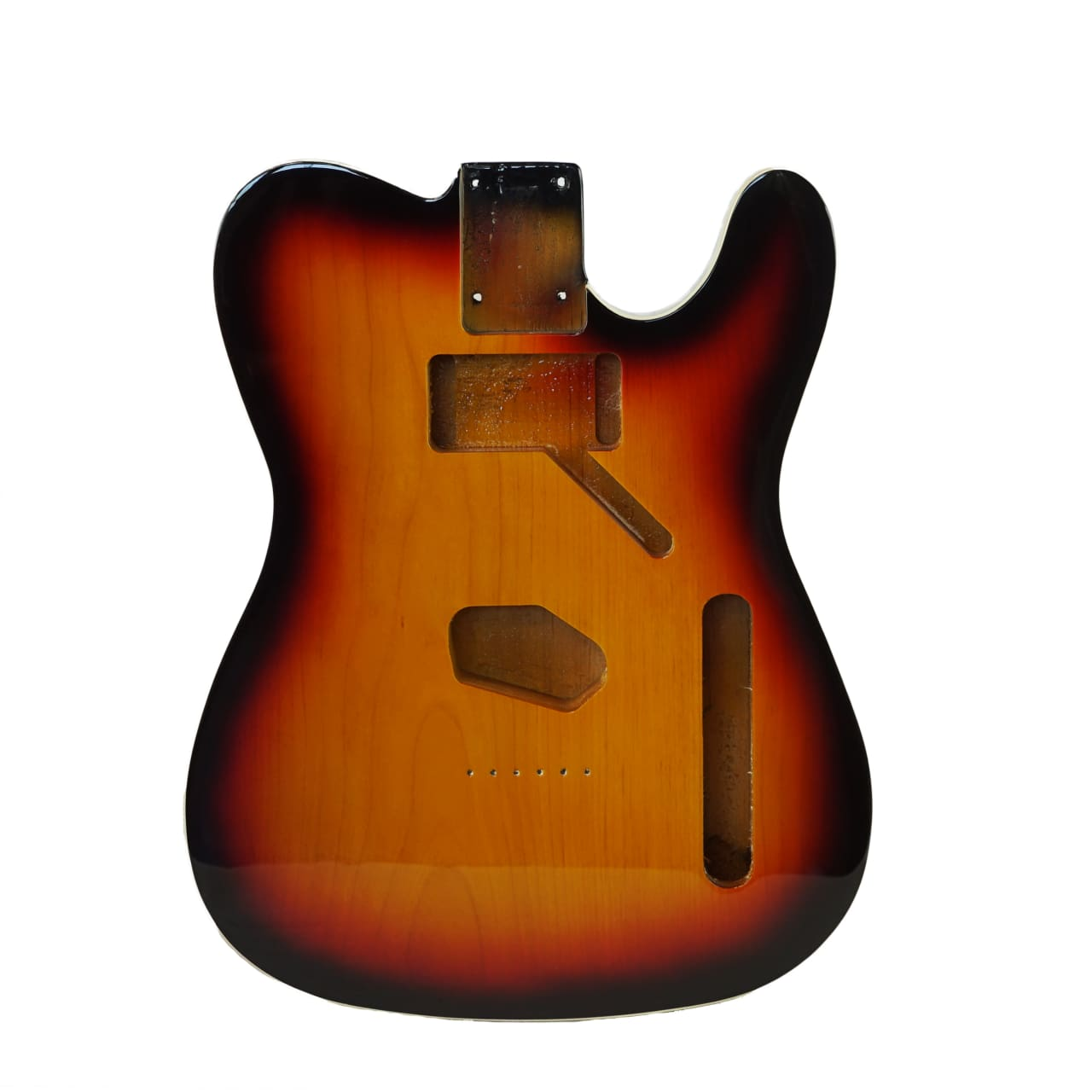 Eden® Premier Series Alder Tele Guitar Body HS Sonic Blue Binding