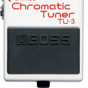 Boss TU-3 Chromatic Tuner Pedal Guitar Bass for sale