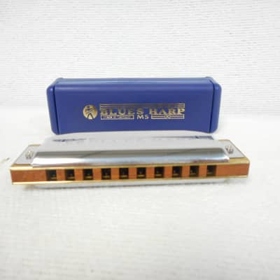 Hohner 532/20 MS Blues Harp E-Flat Chrome