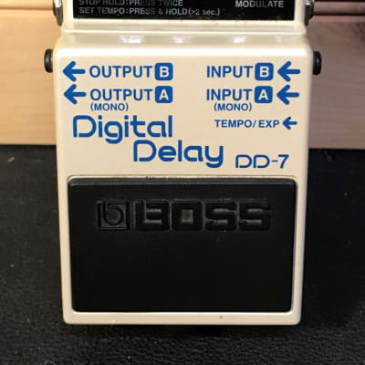 Used Boss DD-7 Delay.