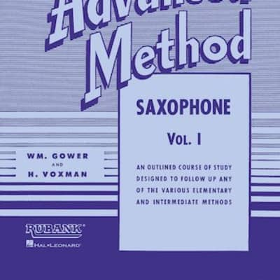 Rubank Advanced Method Saxophone Vol. 1