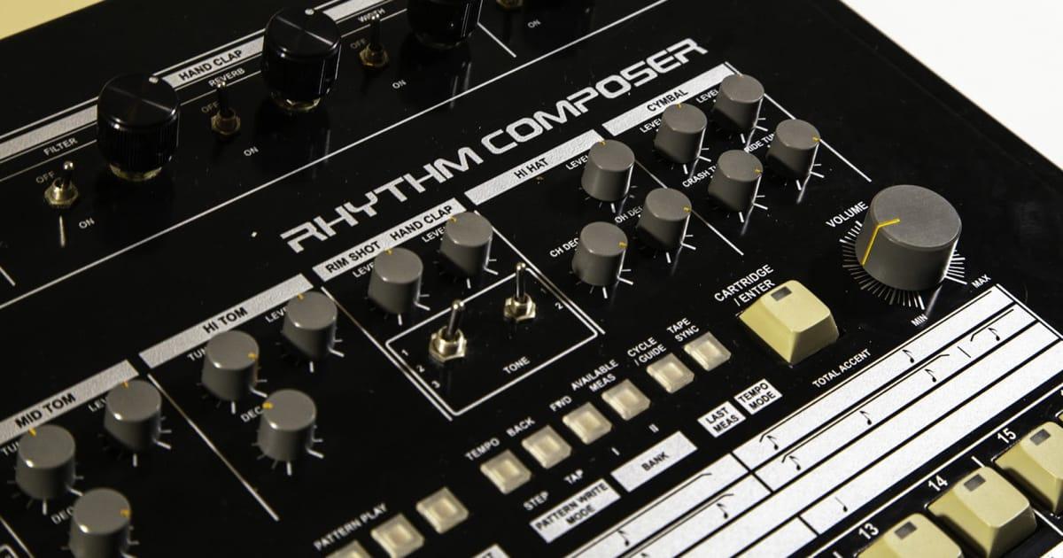 Modded Roland TR-909 Rhythm Composer Sample Pack | | Reverb News