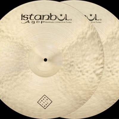 "Istanbul Agop Traditional 16"" Heavy Hi-Hat"