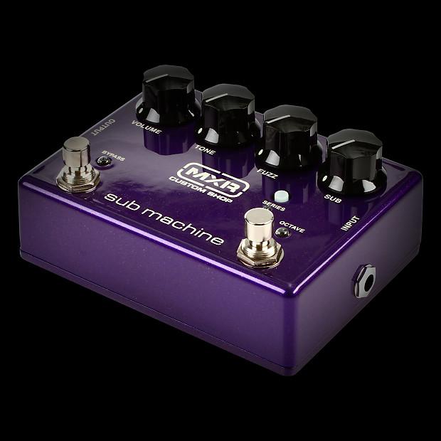 mxr m225 custom shop sub machine fuzz pedal alto music reverb. Black Bedroom Furniture Sets. Home Design Ideas