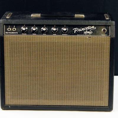 Vintage 1964 Fender Princeton Combo Amp, w/Ragin Cajun 1x10 Speaker Ex #A01011 for sale