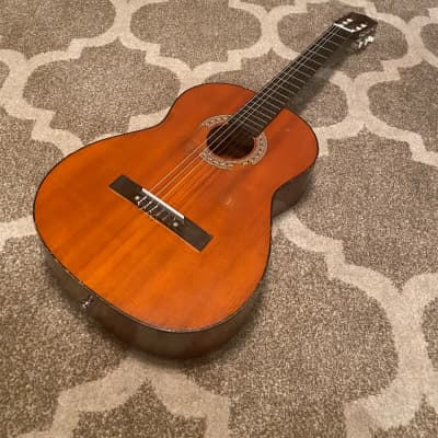 BIG SUMMER BLOWOUT// VINTAGE Hondo Model 150 Made In Korea Classical Guitar for sale