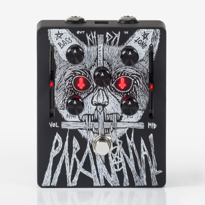 KHDK Electronics Paranormal Limited Edition Gary Holt Signature Parametric EQ / Overdrive