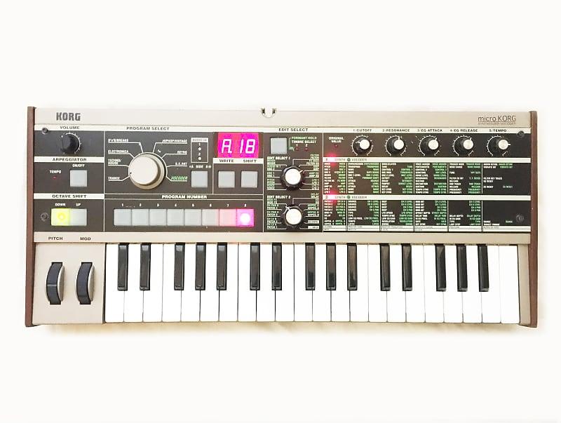 korg microkorg v 1 synthesizer keyboard vacoder good reverb. Black Bedroom Furniture Sets. Home Design Ideas
