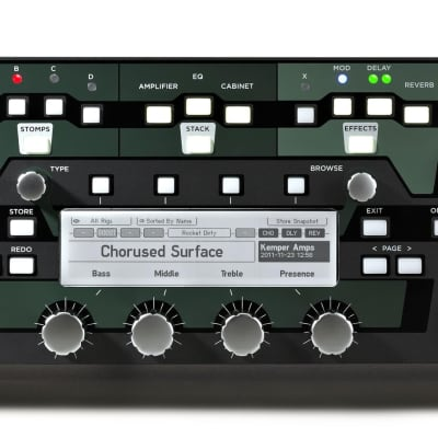 Kemper Profiler PowerRack Rackmount Guitar Amplifier