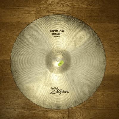 """Zildjian 15"""" A Series Paper Thin Crash Cymbal 1983 - 2005"""