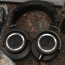 Audio-Technica ATH M50x 2010s Black image