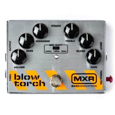 MXR M181 Blow Torch Distortion Bass Guitar Effects Pedal for sale