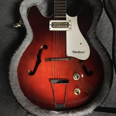 Used Harmony ROCKET H53/1 REDBURST Electric Guitars Red for sale