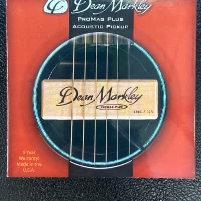 Dean Markley 3010 ProMag Standard Single Coil Acoustic Sound Hole Pickup for sale