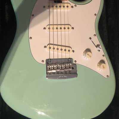 Music Man Sterling Cutlass 2016-2017 Seafoam Green for sale