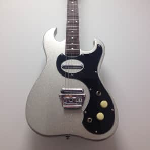 Jay Turser J-tone/Silvertone Style new Silver Sparkle for sale
