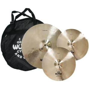 """Wuhan WUTBSU Western Style 14/16/20"""" Cymbal Set"""