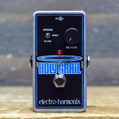 Electro-Harmonix Holy Grail Reverb Nano Spring/Hall/Flerb Reverb Effect Pedal
