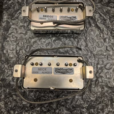 Stewart MacDonald Golden Age Parsons Street Pickups Nickel for sale