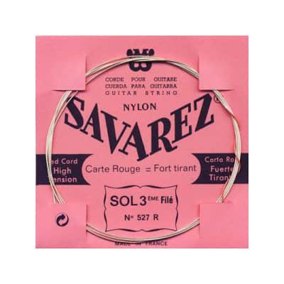 Savarez 527R 3rd Wound Classical Guitar String