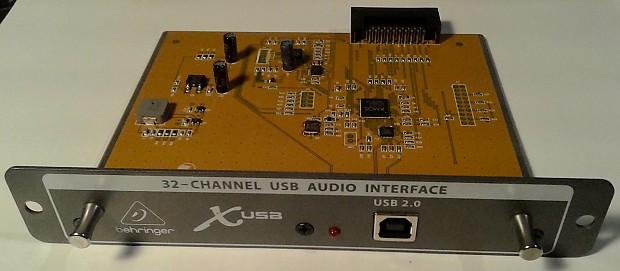 behringer x usb 32 channel usb audio interface for all x32 reverb. Black Bedroom Furniture Sets. Home Design Ideas