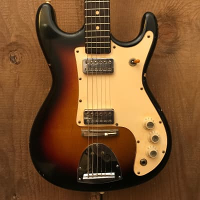 Kapa Challenger II Tobacco Sunburst Vintage 1960s for sale