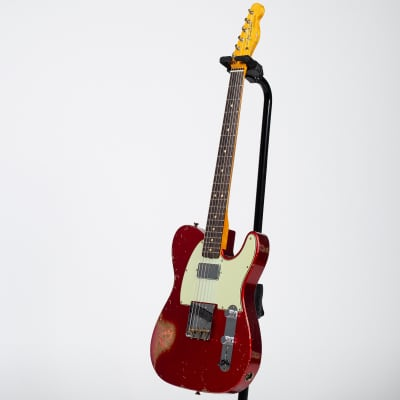 Fender Custom Shop 60s Heavy Relic Telecaster - Candy Apple Red for sale