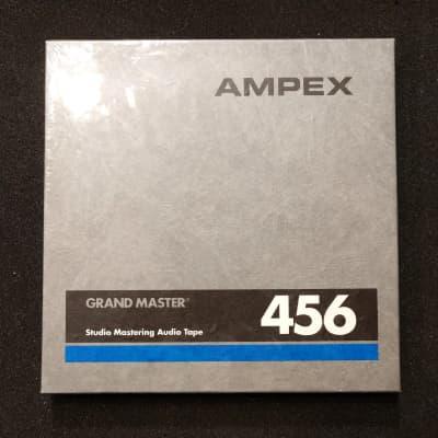 "1/4"" Ampex 456 Grand Master Studio Mastering Reel to Reel Audio Tape"