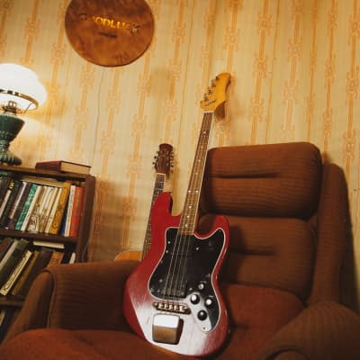 Jolana Galaxis Galaxy Bass Vintage GDR Soviet USSR Guitar for sale