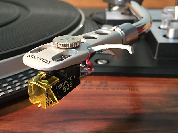 Stanton 505II-SK Cartridge DJ Original Stylus Phono Turntable Record Player  Hi-Fi Phonograph