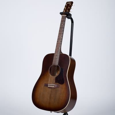 Art & Lutherie Americana Dreadnought Acoustic Guitar with Godin Q1T - Bourbon Burst for sale