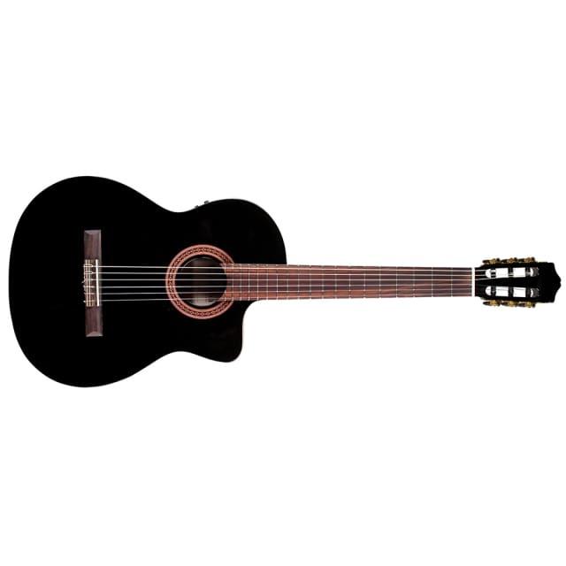 Cordoba C5CE-BK Iberia Acoustic-Electric Nylon-String Classical Guitar Black image