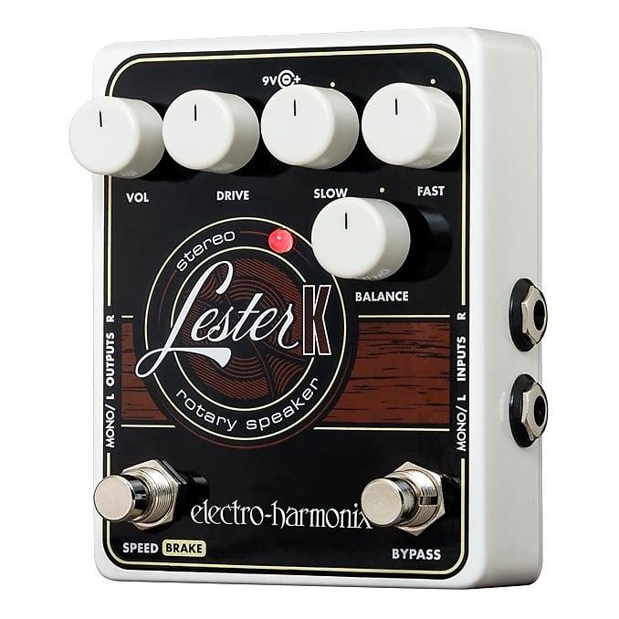 Electro-Harmonix EHX Lester K Stereo Rotary Speaker Emulator Leslie Effects Ped